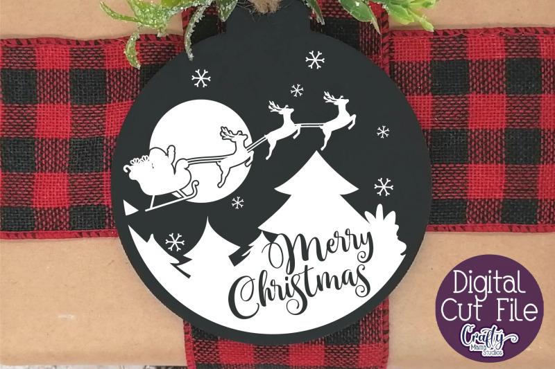 christmas-svg-merry-christmas-santa-on-sleigh-silhouette