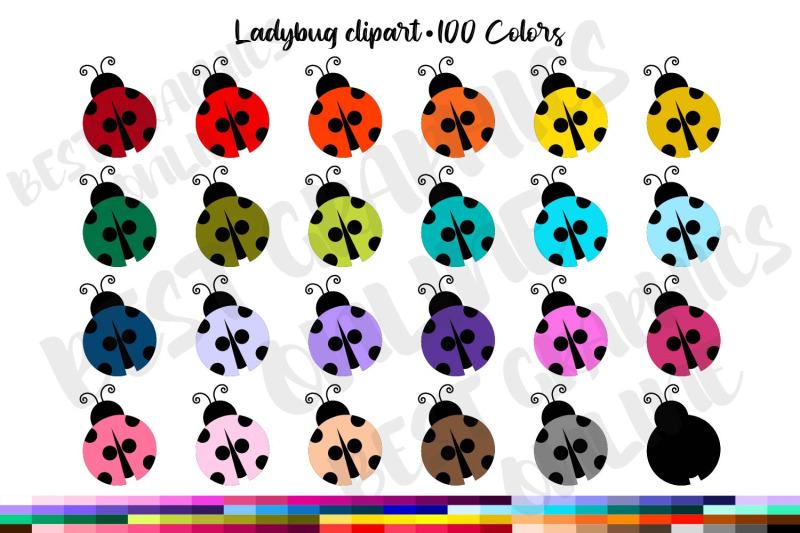 100-colors-ladybug-clipart
