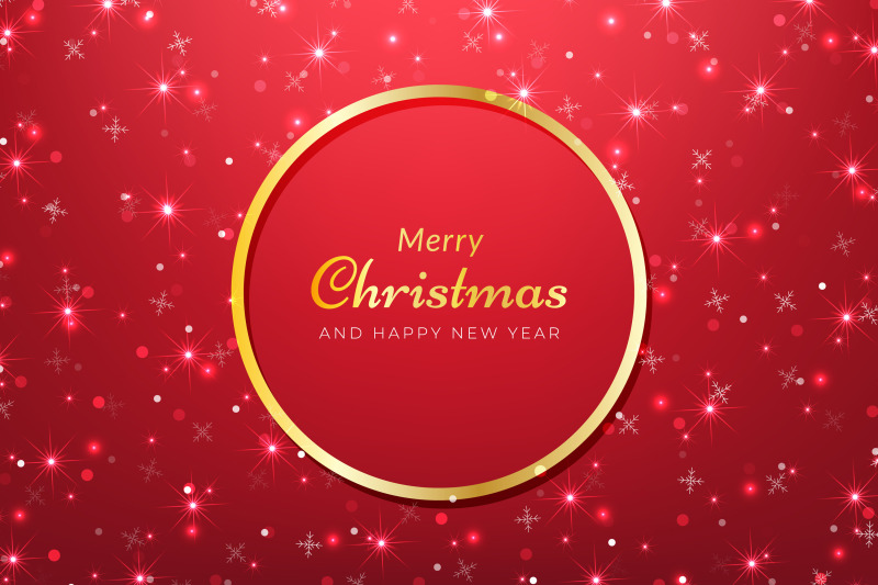 sparkling-red-christmas-background
