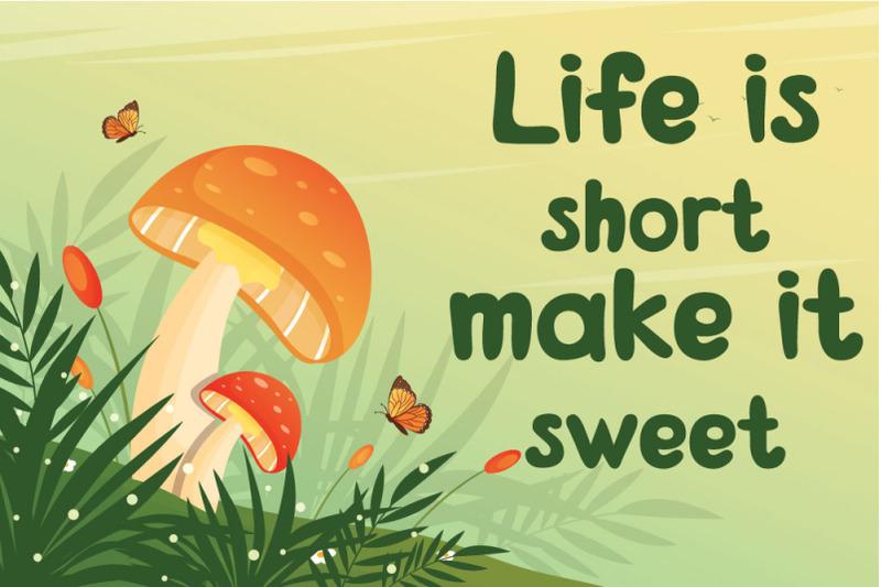 magic-mushroom-cute-and-friendly-display-font
