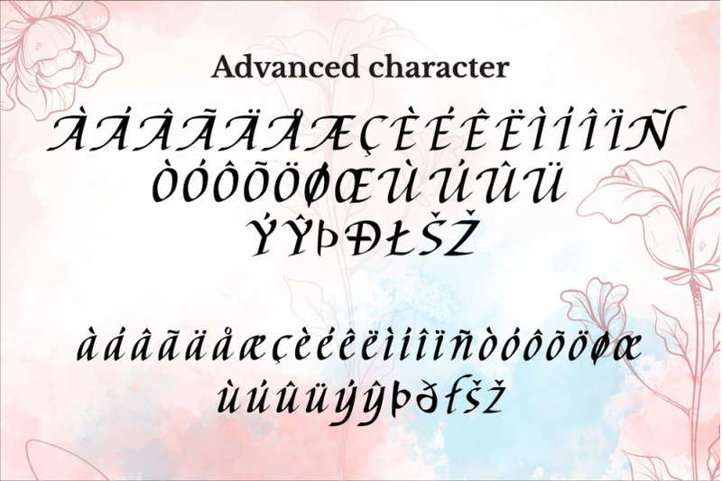 chancery-stars-a-flowing-calligraphy-font