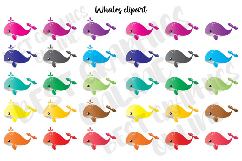 whales-clipart-marine-life-baby-whale