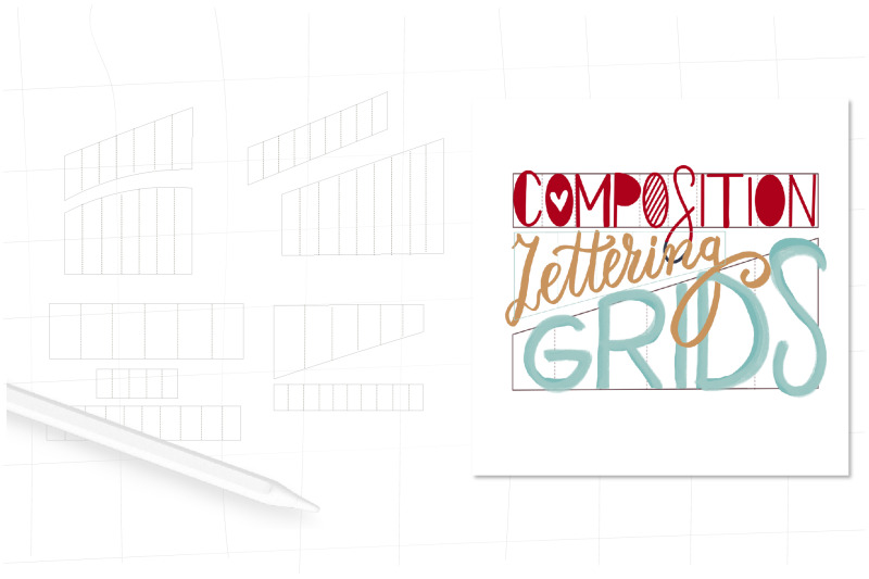 lettering-grids-procreate-stamps-procreate-letter-grid-brushes