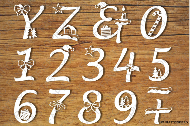decorated-christmas-alphabet-and-numbers-svg-files