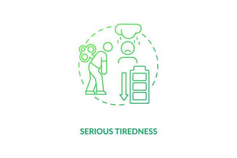 serious-tiredness-concept-icon