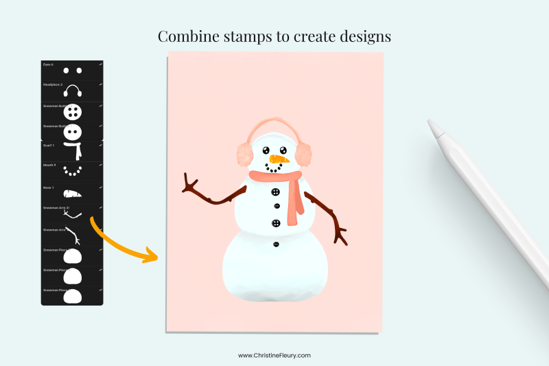 snowman-builder-brushes-for-procreate