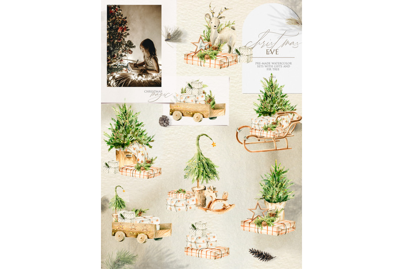 christmas-home-holiday-watercolor-clipart