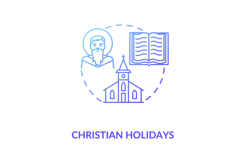 christian-holidays-concept-icon
