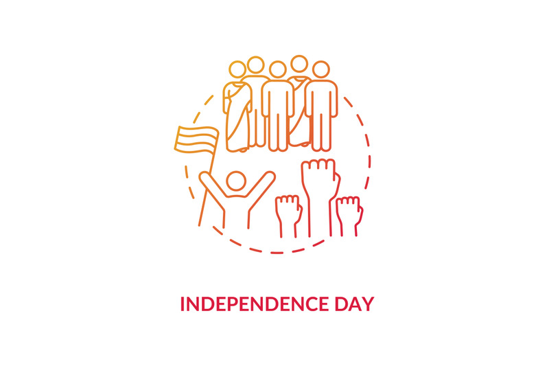 independence-day-concept-icon