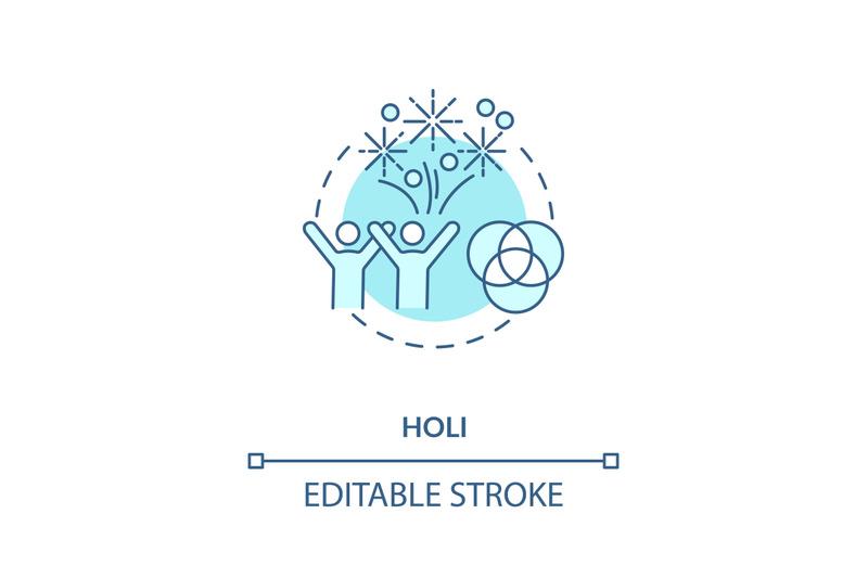 holi-concept-icon
