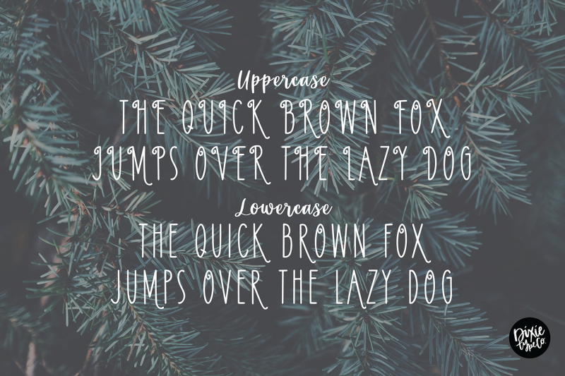 pinewood-farmhouse-christmas-font