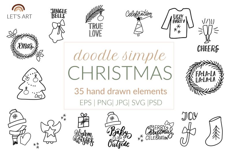 christmas-doodle-clipart-scandinavian-christmas-doodle-svg-xmas-gree