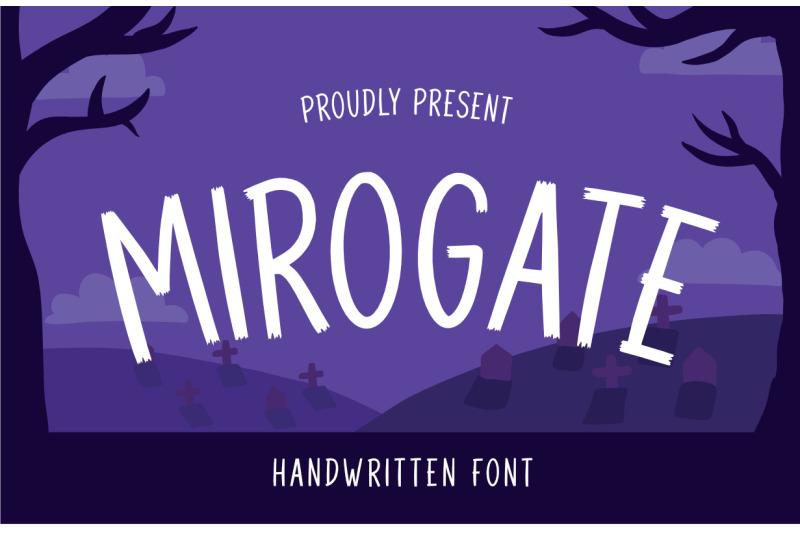 mirogate-font