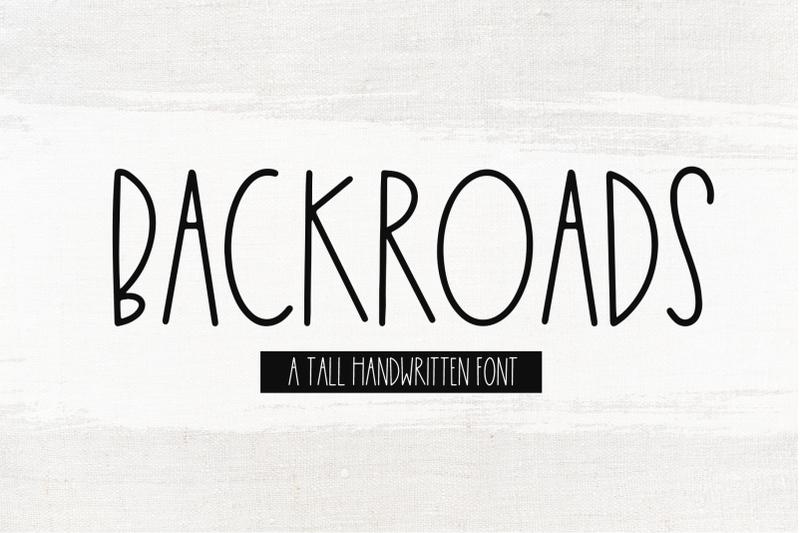 backroads-farmhouse-font