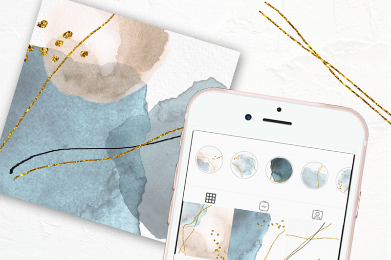 instagram-story-highlight-covers-watercolor-abstract