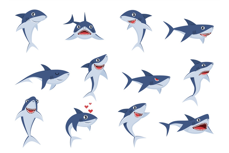 cartoon-cute-sharks-underwater-characters-with-different-emotions-ha