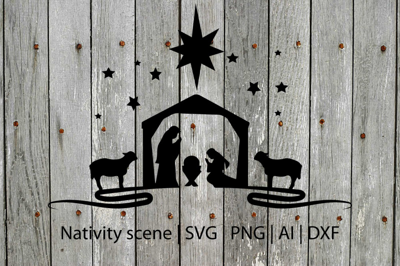 nativity-svg-christmas-svg-holiday-svg-holiday-cut-file