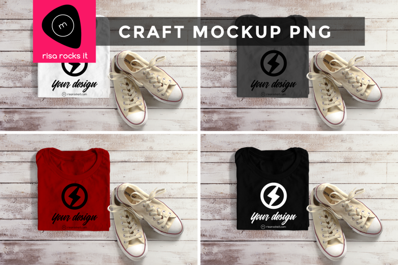 folded-tee-with-sneakers-png-mock-up