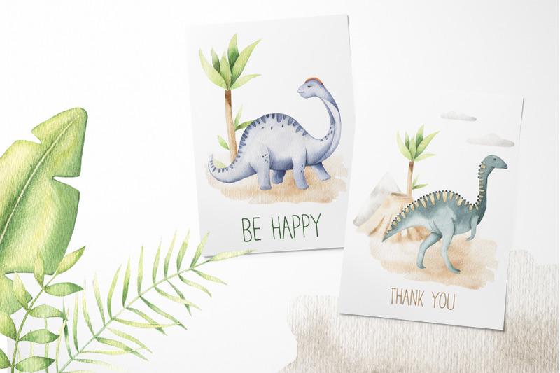 dinosaurs-watercolor-set