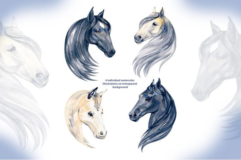 watercolor-horses-clipart