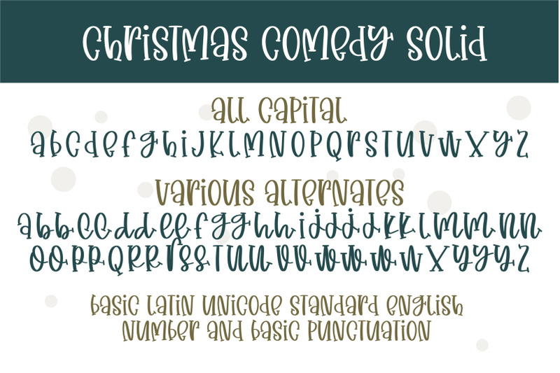christmas-comedy-a-adorable-handwritten-mixed-case-font