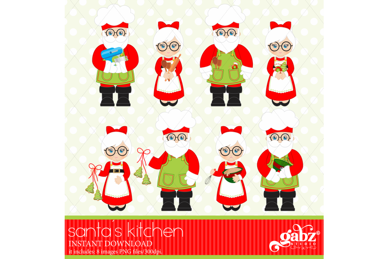 kitchen-of-santa-baking-at-christmas-santa-baking-christmas-cookie