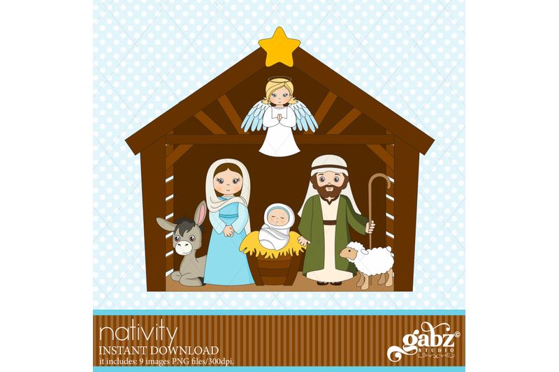 nativity-clipart-nacimiento-holidays-merry-christmas