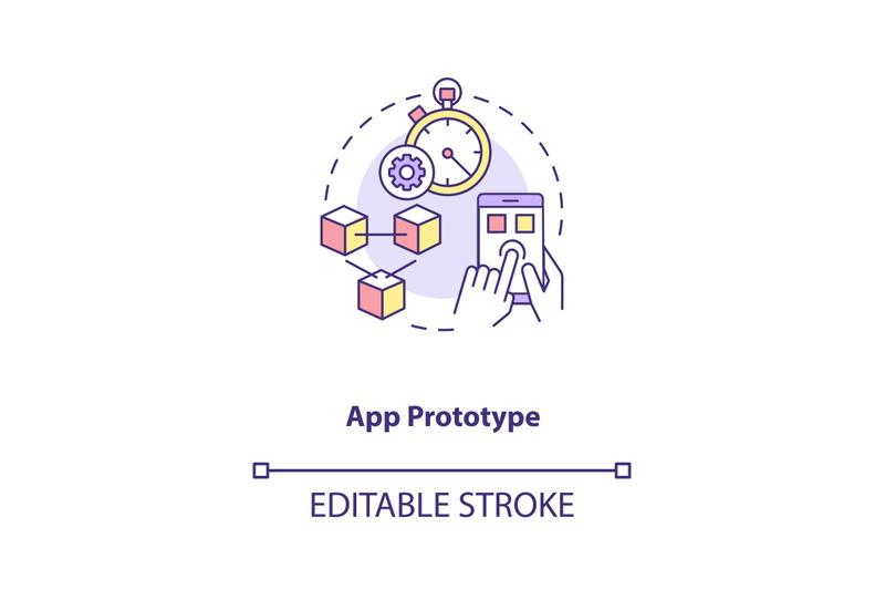 app-prototype-concept-icon