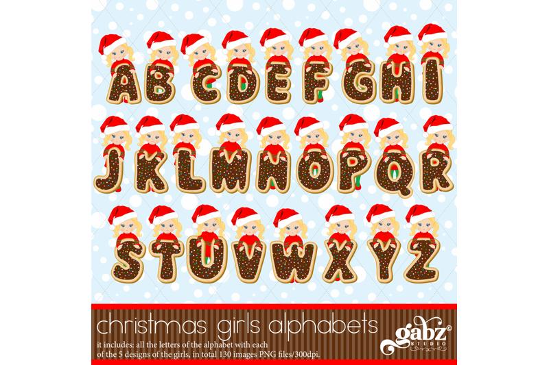 christmas-girls-alphabets-cookies-christmas-alphabet