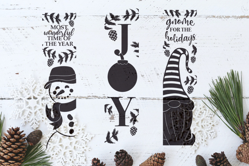 christmas-porch-signs-christmas-gnome-joy-snowman
