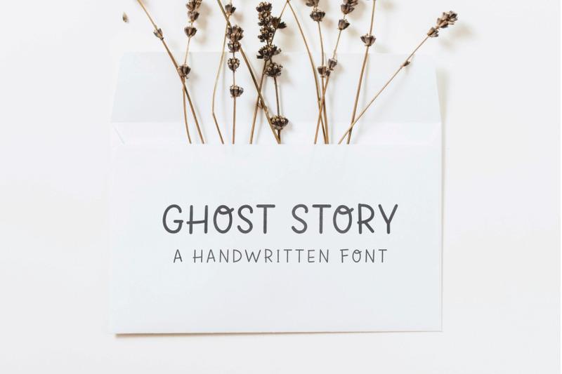 ghost-story-handwritten-font
