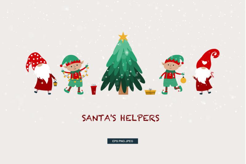 santas-helpers-gnomes-amp-elves