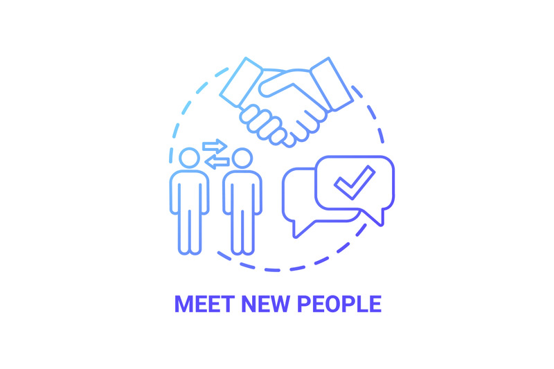 meet-new-people-concept-icon