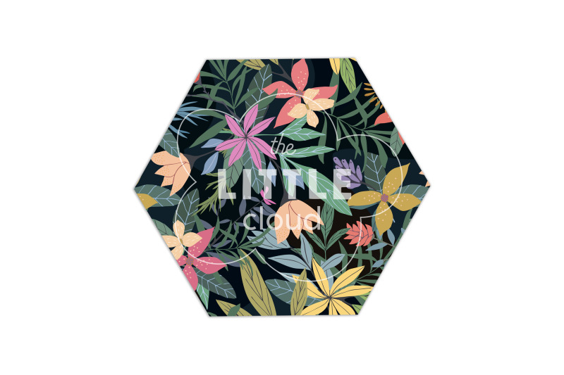 exotic-florals-seamless-patterns