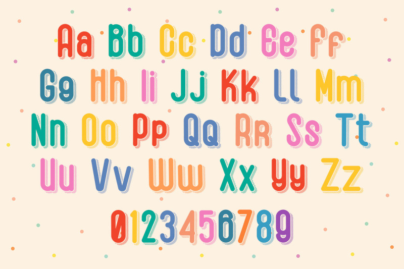 honey-duck-fun-shadow-font