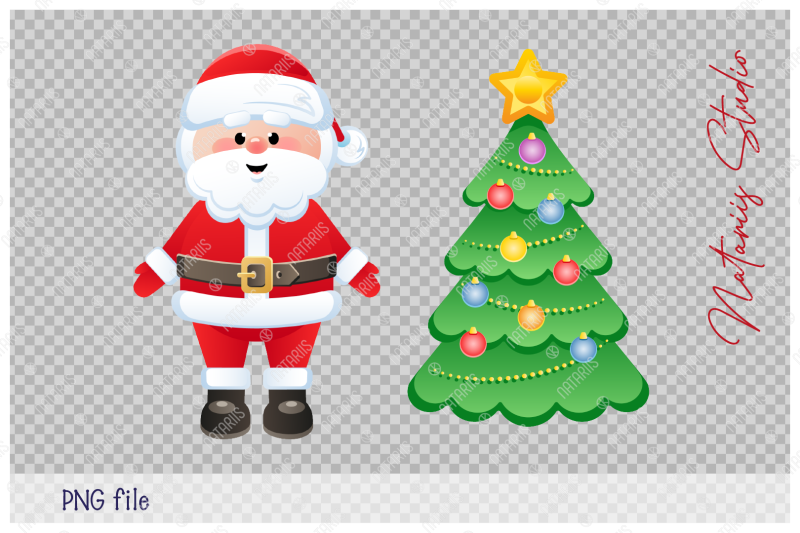 merry-christmas-a-huge-group-of-santa-clauses-with-christmas-tree