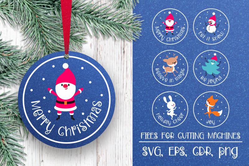 christmas-ornament-svg-bundle-funny-animals-and-santa