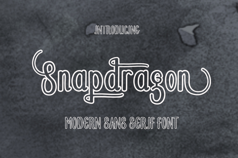 snapdragon-font-duo