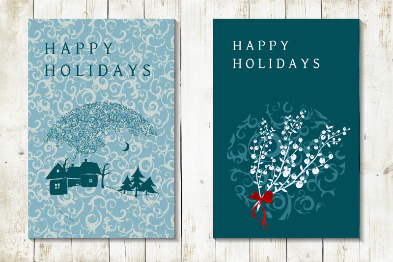 frozen-christmas-greeting-cards