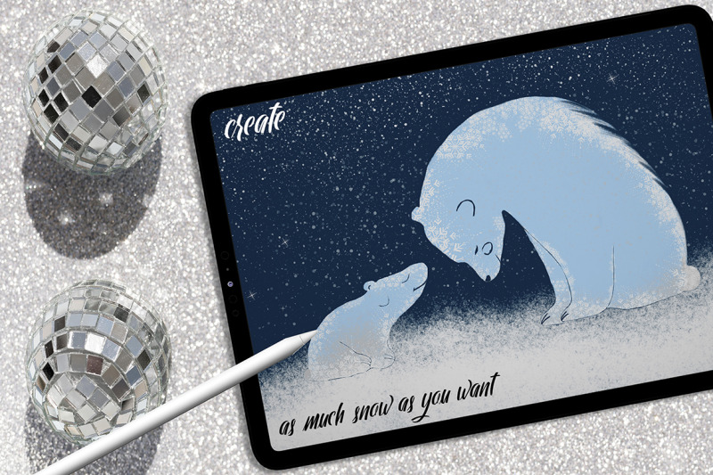 snow-amp-ice-procreate-brush-set