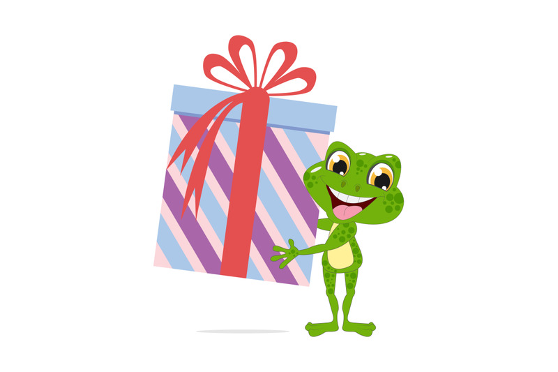 frog-with-big-gift