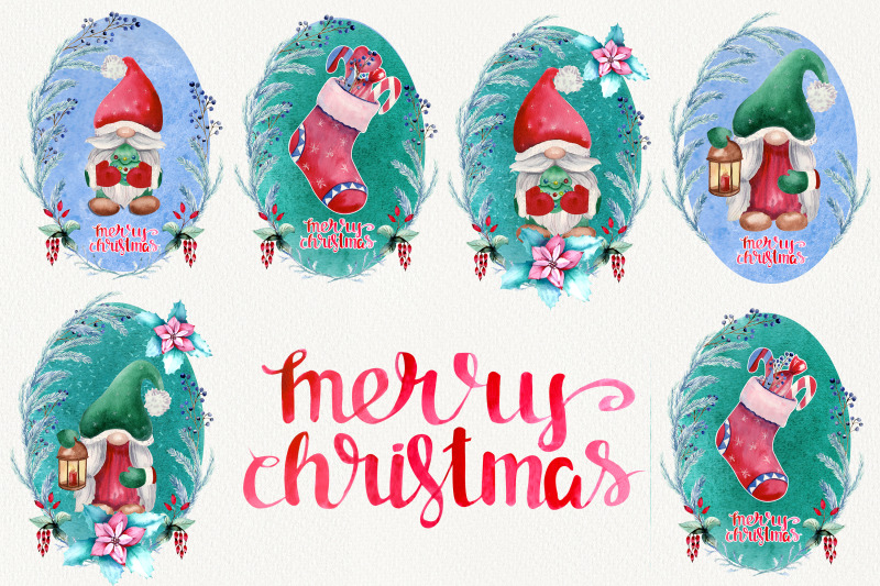 watercolor-postcards-with-new-year-039-s-gnomes-etc