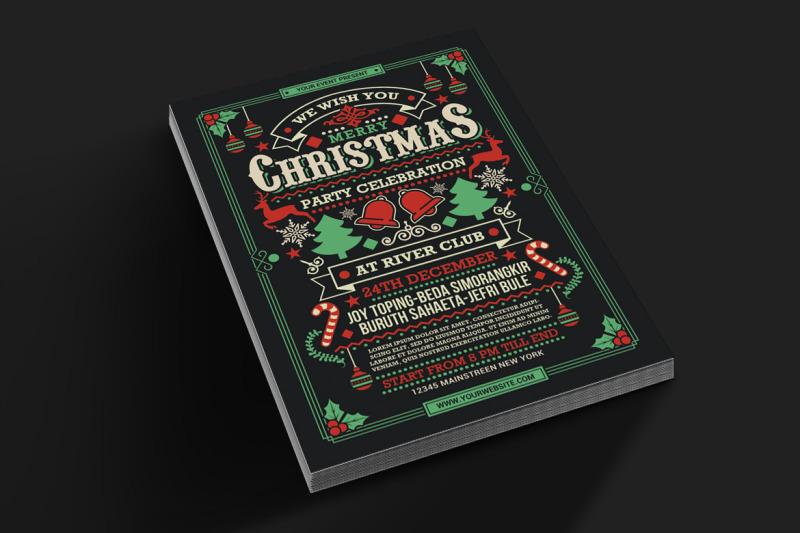 christmas-party-celebration-flyer