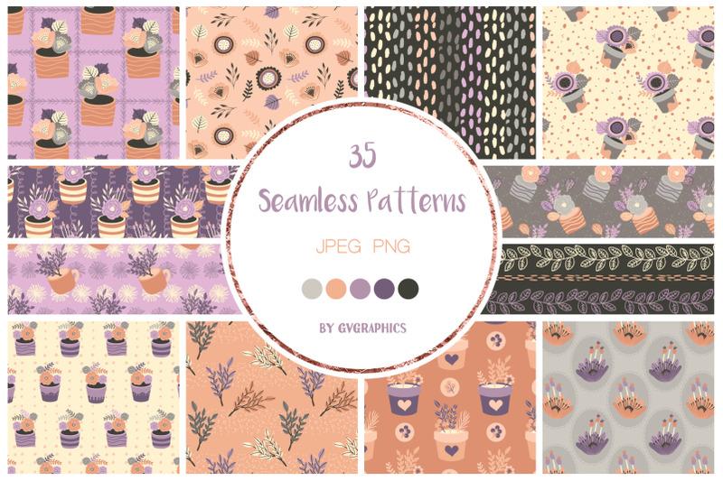 35-elegant-flowers-seamless-patterns