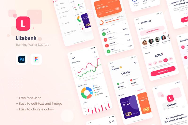 litebank-banking-wallet-ios-app-design-ui