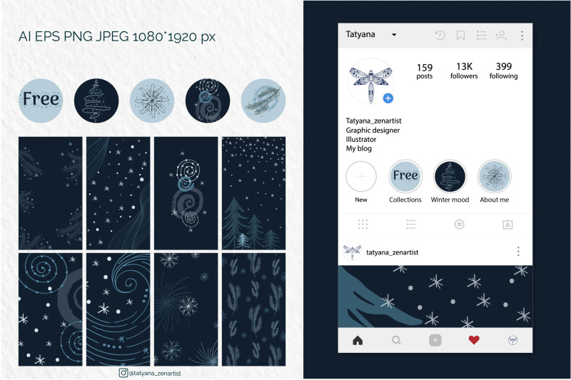 abstract-winter-social-media-stories-layout-in-modern-style
