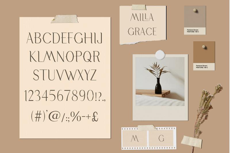 milla-grace-modern-classic-font