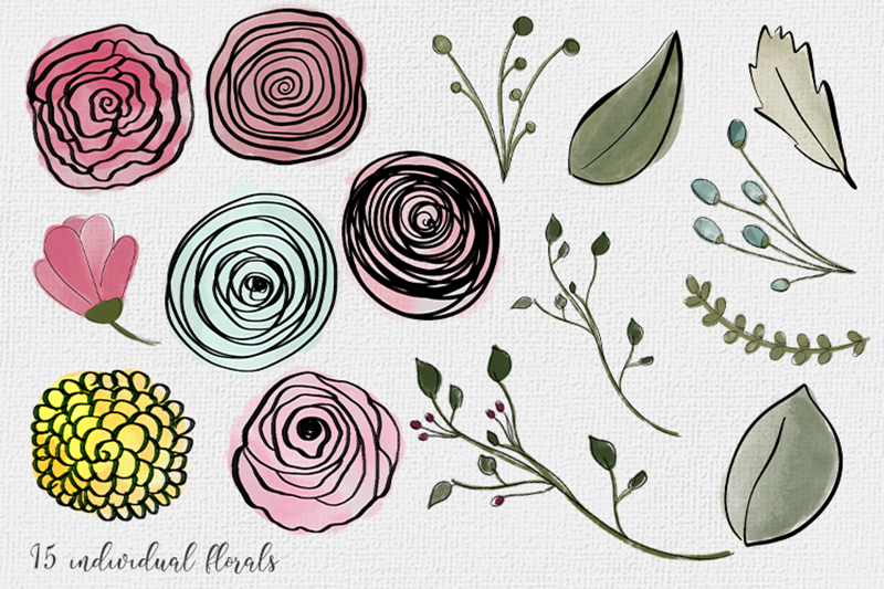 watercolor-floral-illustrations