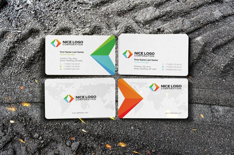 arrows-business-card