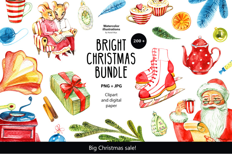 watercolor-christmas-bundle